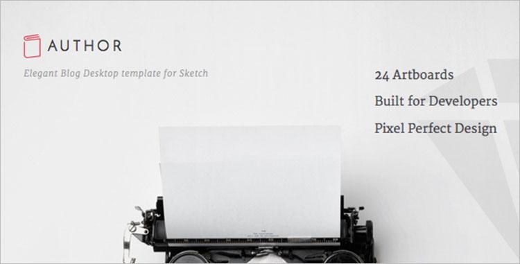 Sketch WordPress Templates