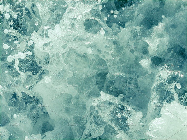 Sparkling water texture