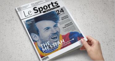 Sports Magazine Templates