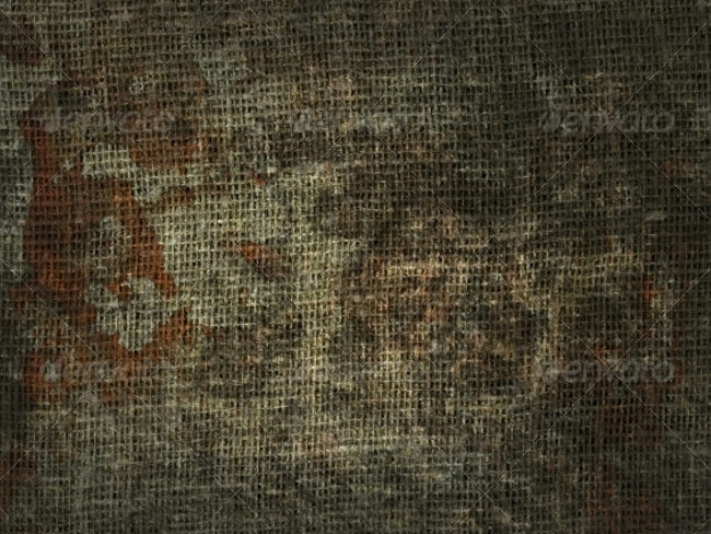 Stained fabric texture