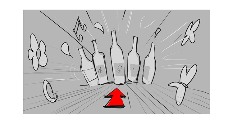 storyboard design template psd