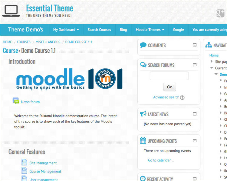 Top 5 Best Free Moodle Themes