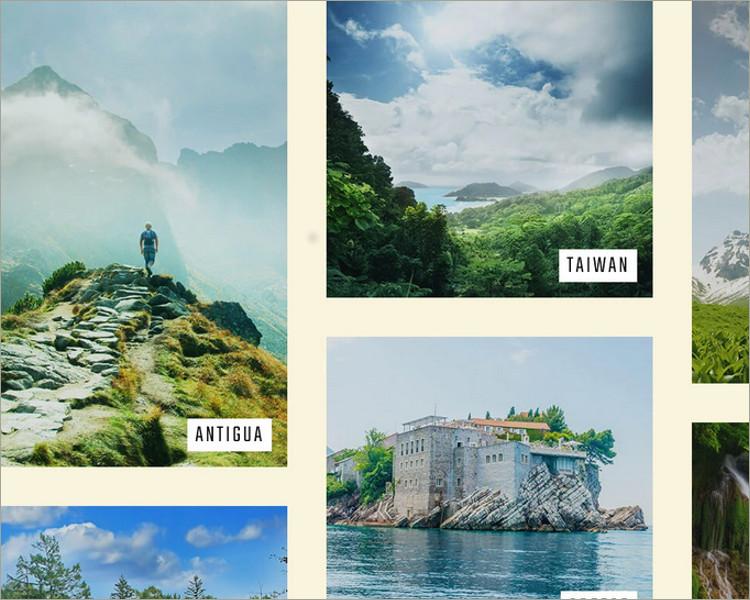 Travel Photo Blog WordPress Theme