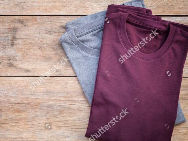 Trendy Fabric T-shirt Texture Design
