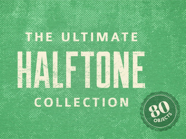 Ultimate Halftone Texture Design