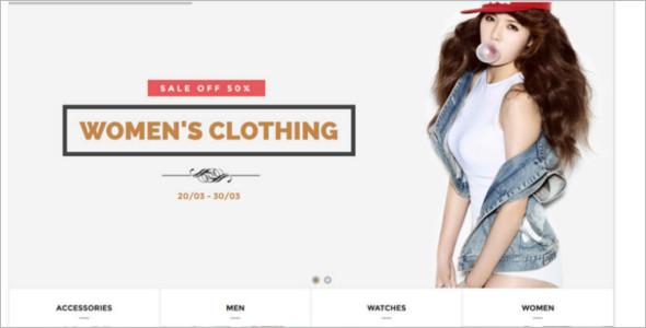 Women Fashion For Mogento Theme