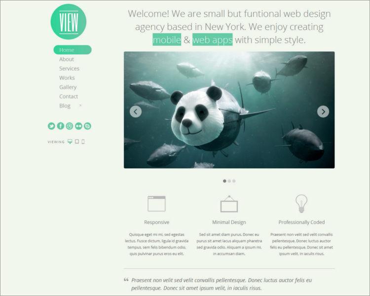 WordPress Responsive Themes