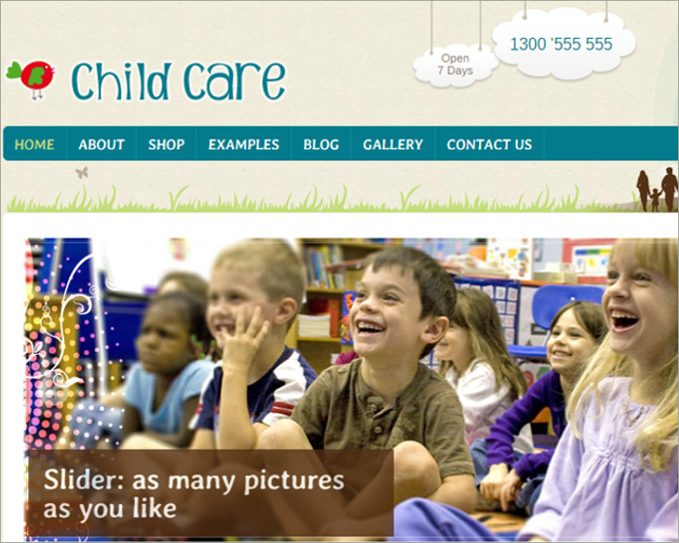 WordPress Shop and Kids Theme