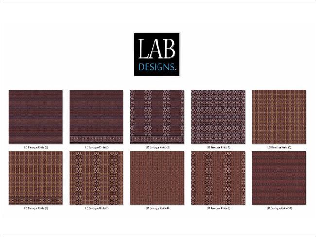 Woven Fabric Coaster Textures