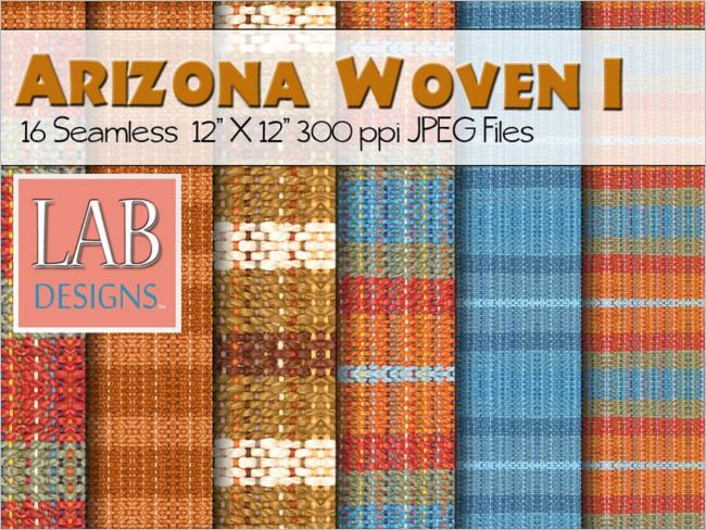 Woven Fabric Example Texture Design