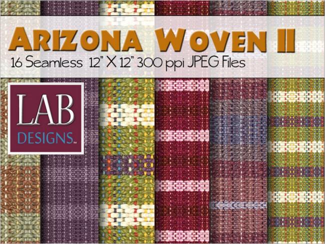 Woven Fabric Flowchart Texture Design