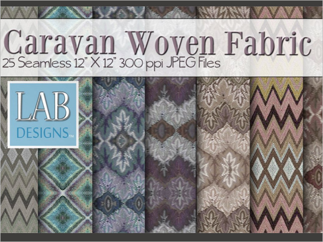 Woven Fabric Patter Texture