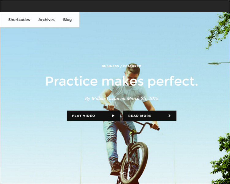 Writer Magazine Bootstrap Template