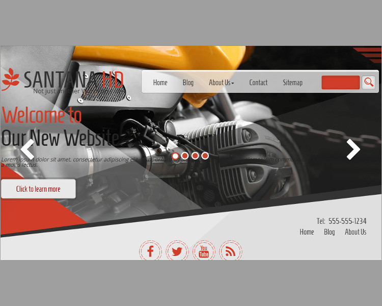 bike wordpress templates