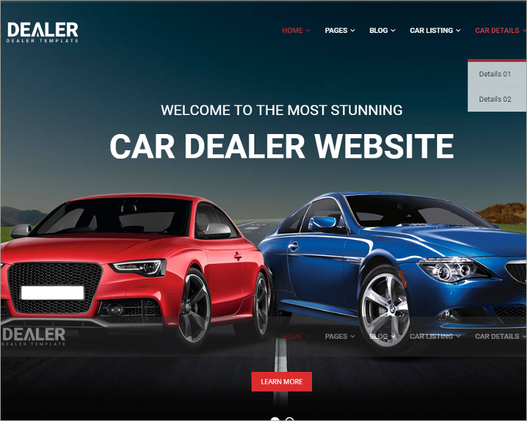car dealer templates