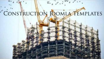 Construction Joomla Templates