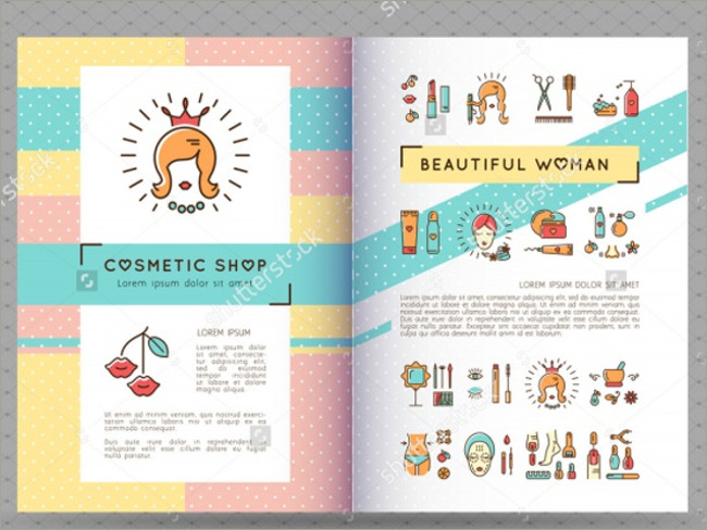 cosmetic brocure template 10