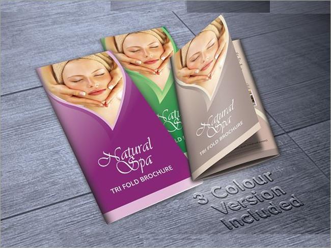 cosmetic brocure template 2