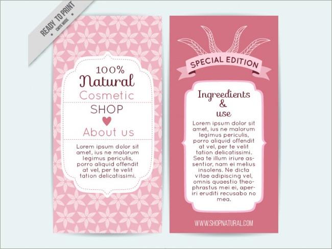 cosmetic brocure template 20