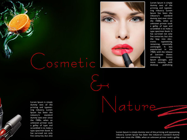 cosmetic brocure template 24