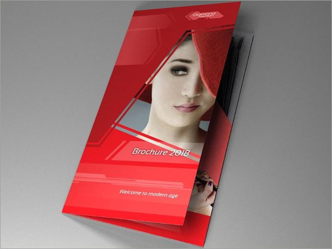 cosmetic brocure template 3