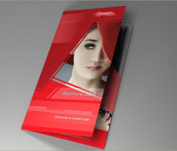 cosmetic brocure template feat