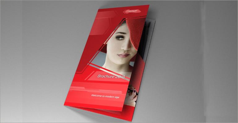 cosmetic brocure template feat