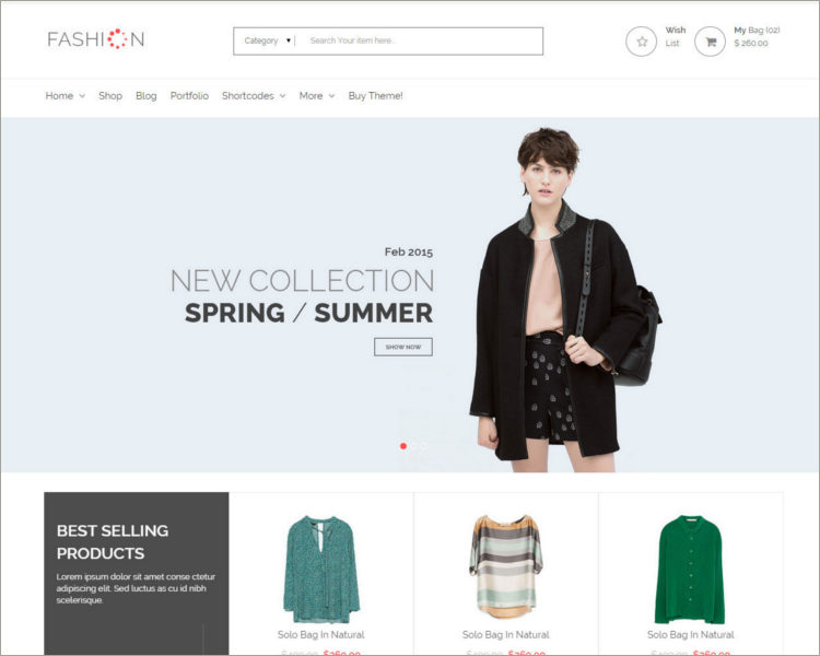 eCommerce Shop HTML Template