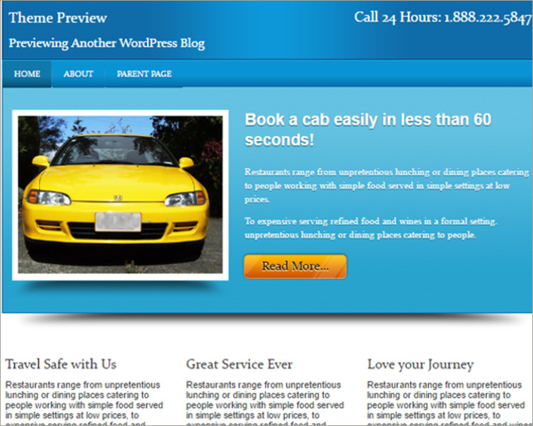 free local business wp theme