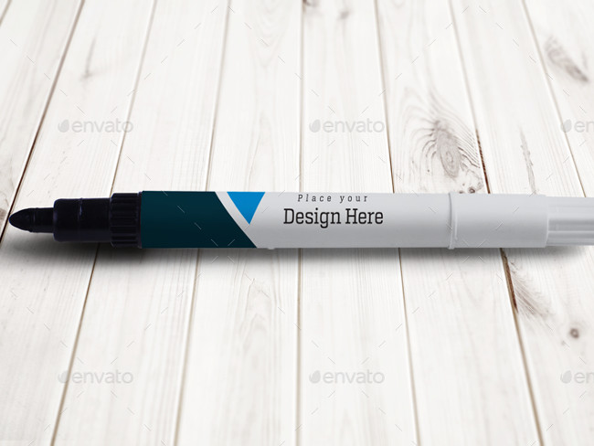 high quality Marker pen Mock Up