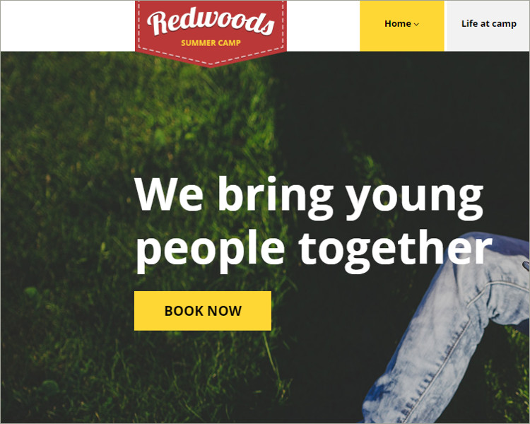 kids Redwoods WordPress Theme