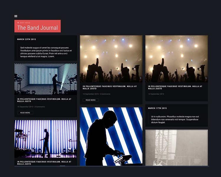 kpop Music WordPress Template