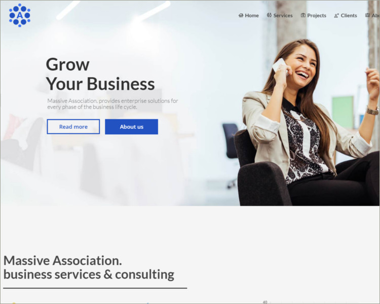 local business consulting wp theme