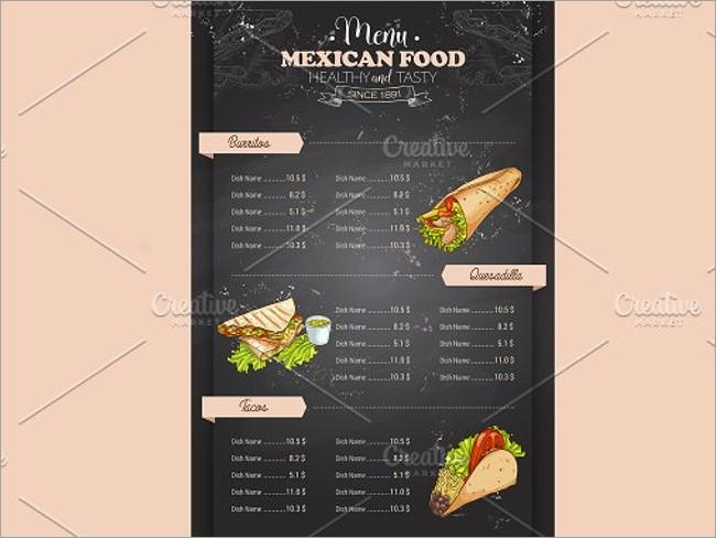 menu brochure design 14