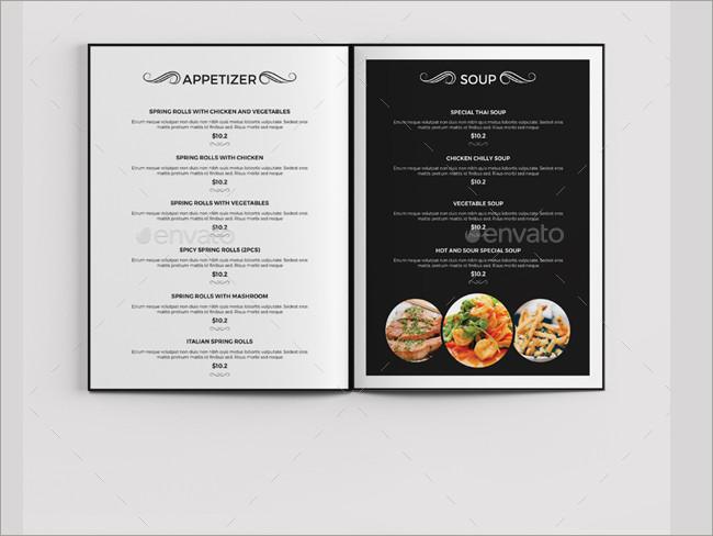 menu brochure design 16