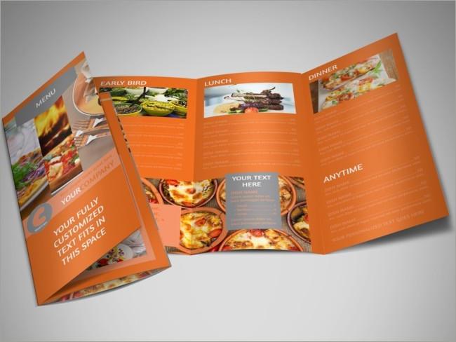 menu brochure design 18
