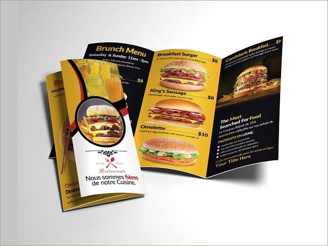 menu brochure design 20