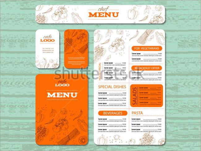 menu brochure design 21