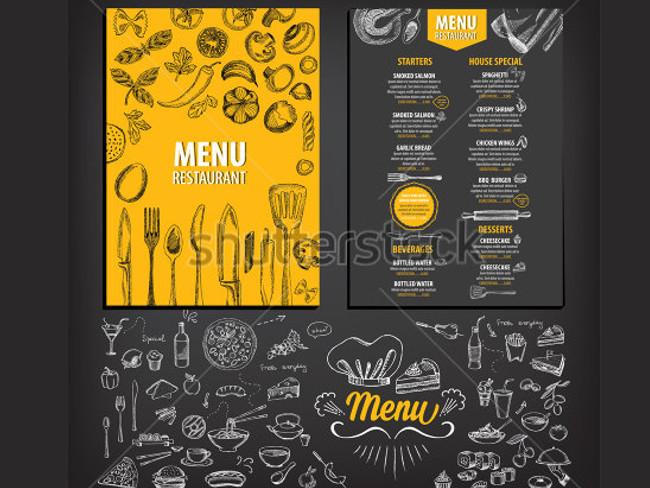 menu brochure design 22
