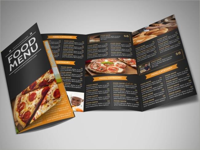 menu brochure design 23
