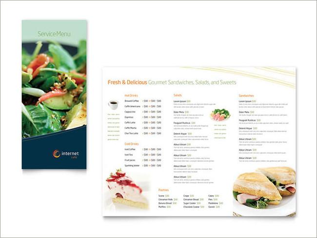 menu brochure design 24