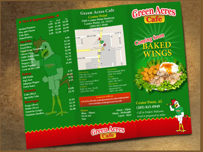 menu brochure design 25