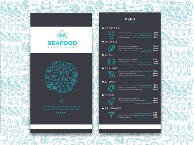 menu brochure design 5