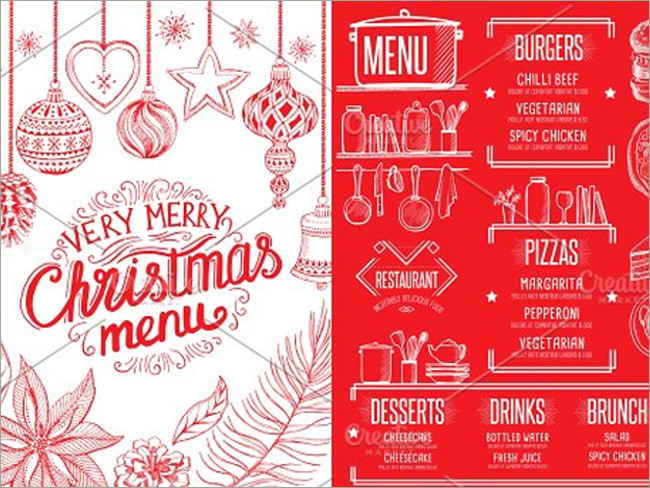 menu brochure design 6