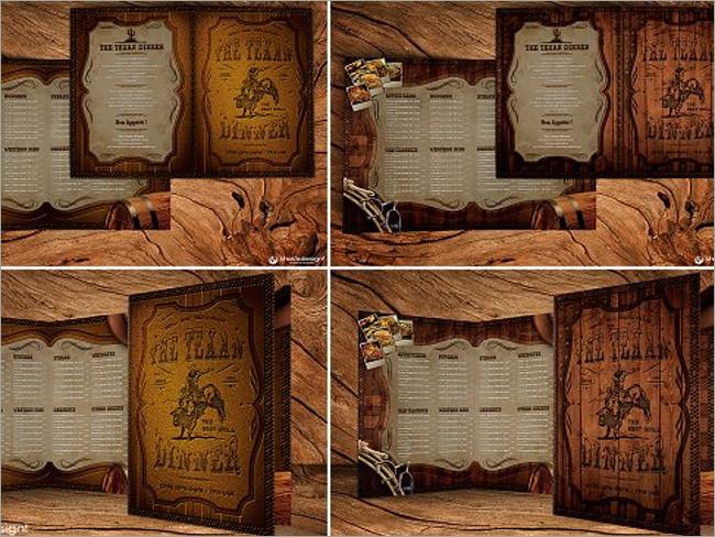 menu brochure design 8