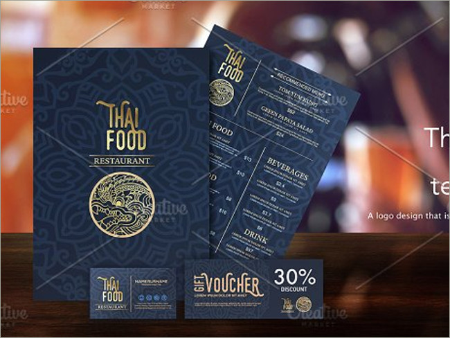 menu brochure design 9