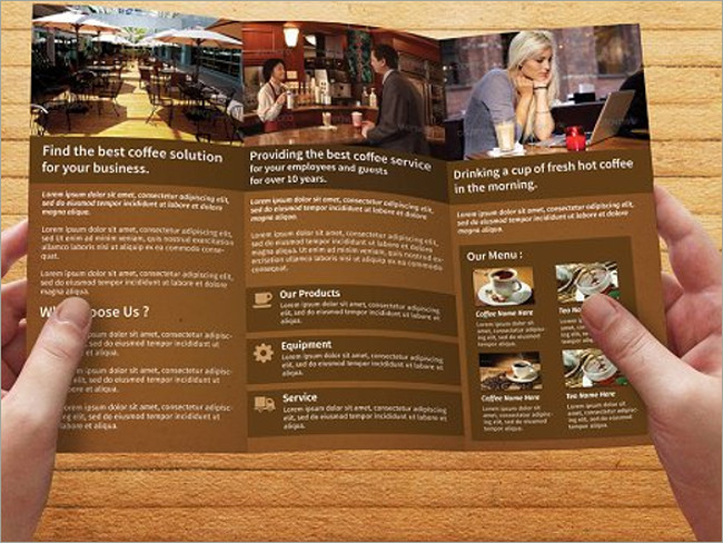 menu brochure designs 1