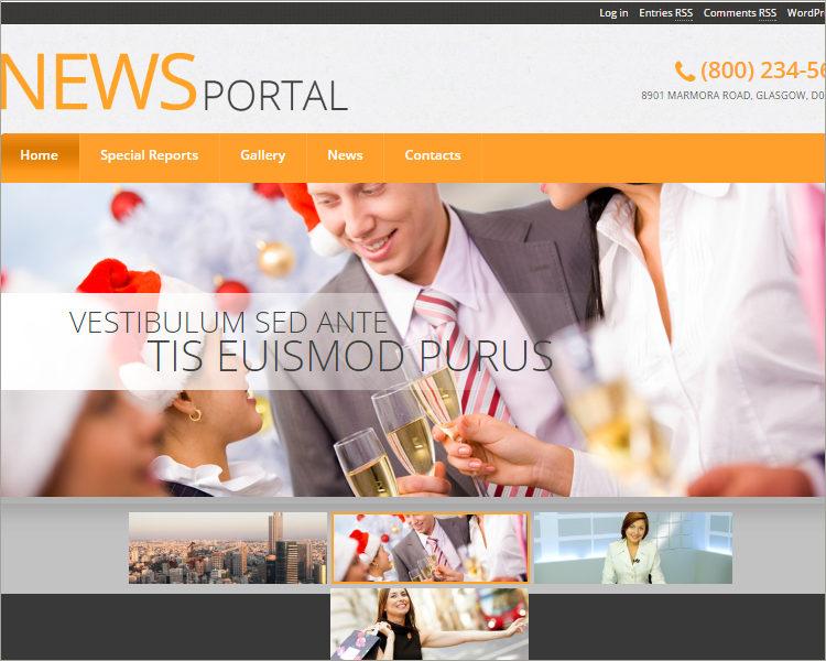 news portal word press theme