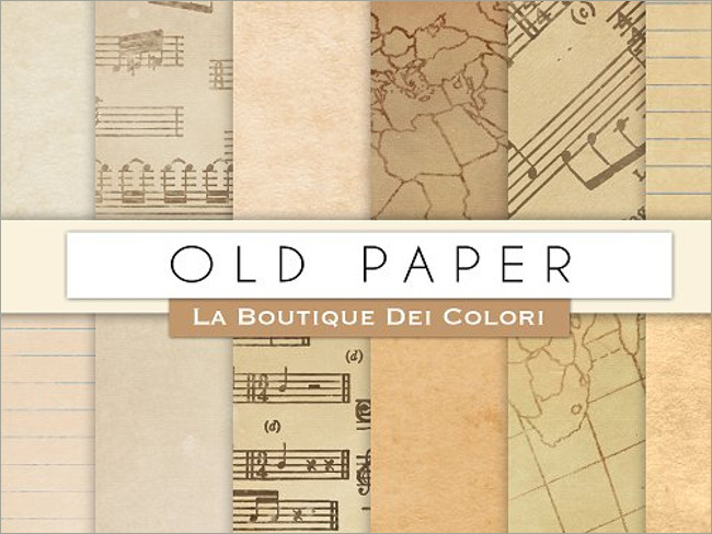 Old Digital Paper Textures