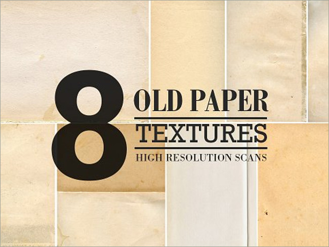Adobe Old Paper Illustrator Textures